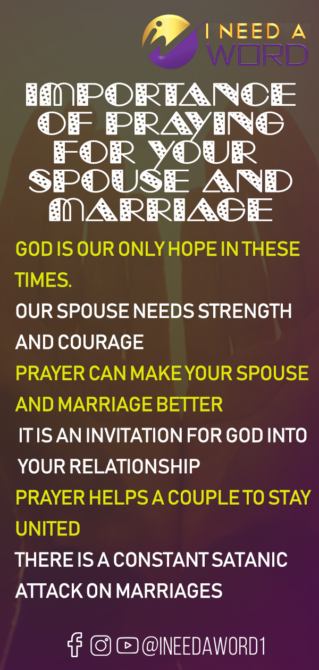 Prayer for separated couples